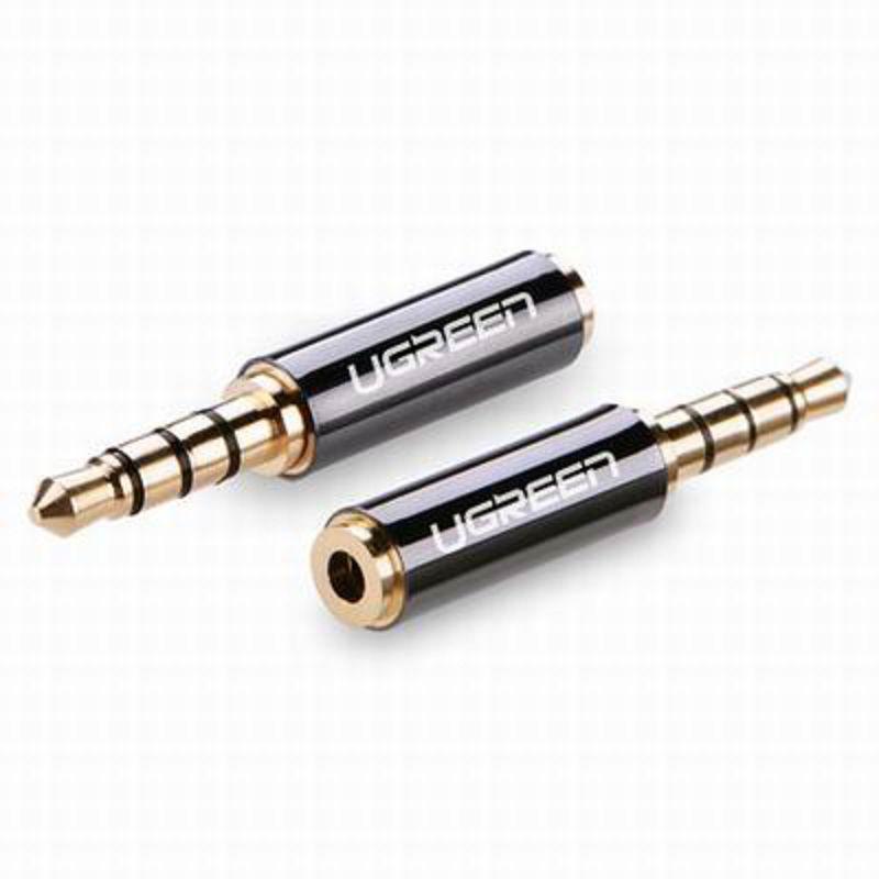 【3.5mm轉2.5mm轉換頭-3.5公轉2.5母-1個/組】手機耳機轉接頭大轉小插頭線-586062