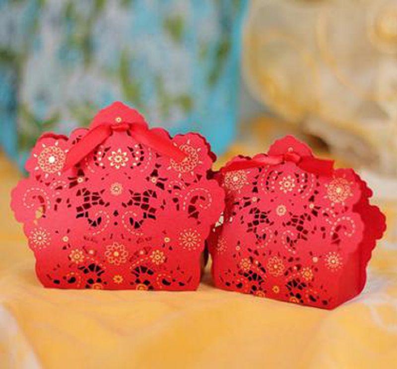 【婚禮回禮贈品-喜糖盒子-小號9.5*7.5*2.8CM-200個/組】結婚喜糖盒子婚慶婚禮用品-726001