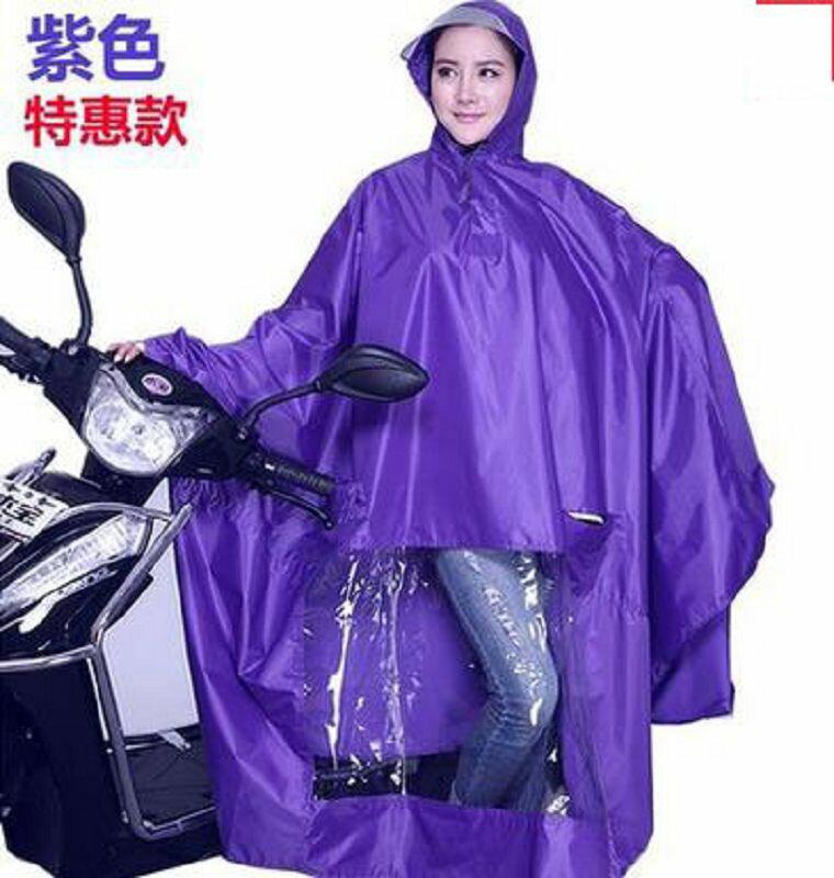 【雨衣-特惠款無鏡套-單人-牛津布-1件/組】摩托車雨衣電動車雨衣成人加大加厚雨披男女士單人-726003