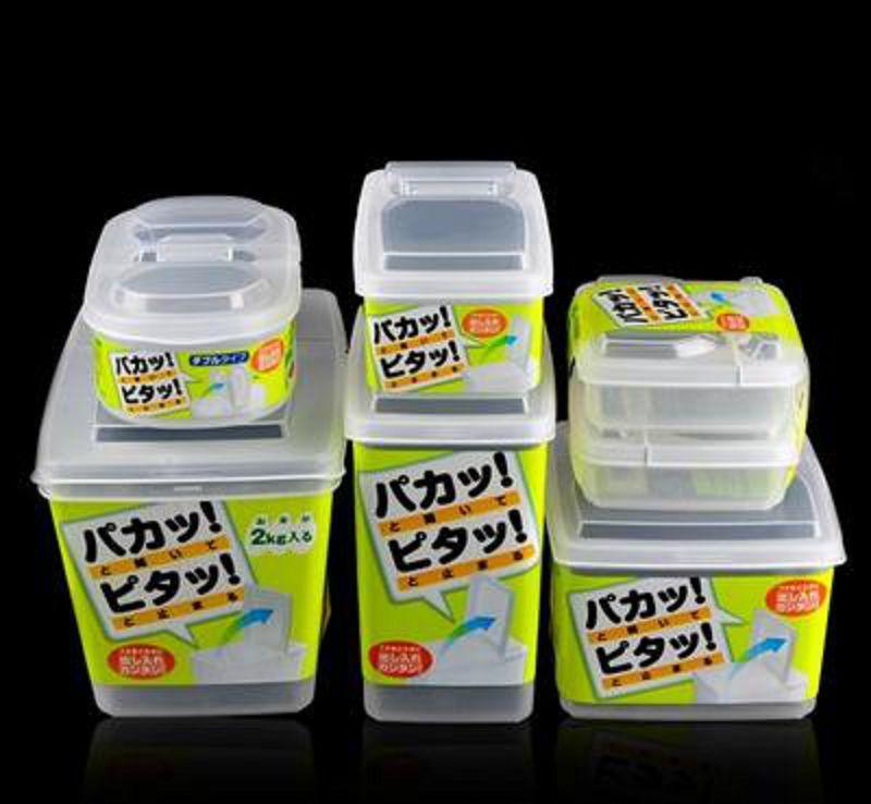 【保鮮盒-PP-1.7ML/3ML-1個/組】冰箱保鮮盒 食品雜糧乾貨儲物罐 塑膠冷可凍分隔-726004