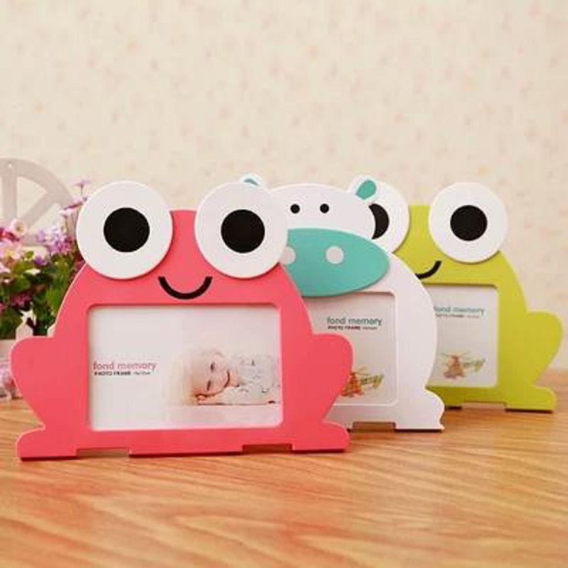 【兒童相框擺台-6寸-塑膠-1個/組】歐式兒童相框6寸六創意寶寶卡通像框畫框相架相片照片框-727001