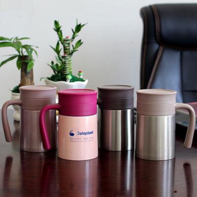 ~辦公杯~不銹鋼~500ML~1個  組~真空保溫辦公杯茶葉帶手柄 杯 杯刻字印LOGO~
