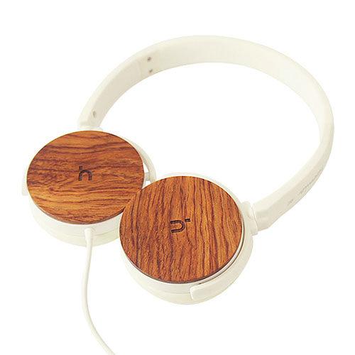 【hoomia U3Wood 紅花梨原木經典耳罩式耳機】-5821001