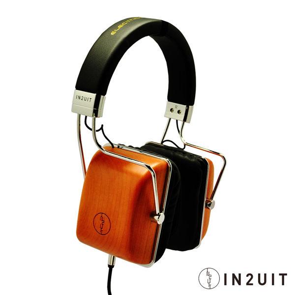 【IN2UIT 混合式靜電技術 原木耳罩式耳機 (I500B)】-5821001