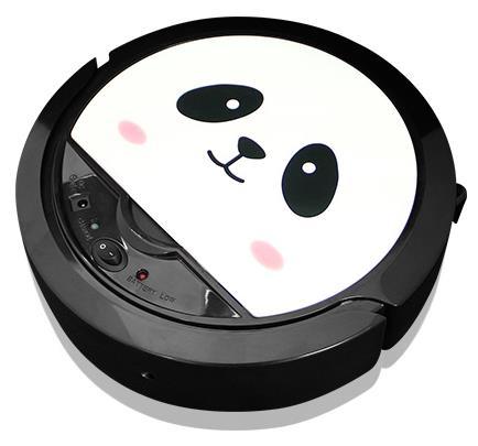 【趴趴走papago全自動吸塵器掃地機-卡通款-RV3T熊貓機PANDA-S 】台灣品牌-7221001