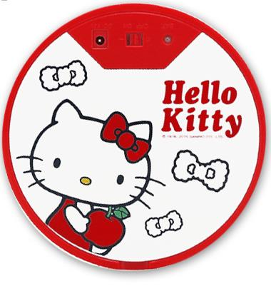 【Vbot全自動吸塵器掃地機-卡通款-hello ketty迷你吸塵器-ketty M100】台灣品牌-7221001