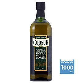 【特級橄欖油-1L/瓶-2瓶/組】西班牙原裝進口 山富(Coosur)《第一道冷壓 Extra Virgin》特級橄欖油(1L)-8020002