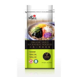 【有機三寶蕎麥麵-285g/包-4包/組】有機三寶蕎麥麵285g-8020003
