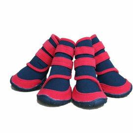 潛水布寵物雨鞋/防滑防水大型犬狗鞋子XS小型/XXS超小型可選-7901001