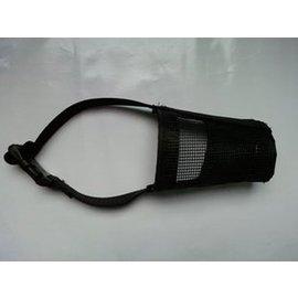尼龍網型可調狗嘴套/嘴罩防咬止吠/出口歐美/柔軟舒適-7901001