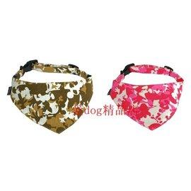 寵物三角圍巾/狗狗口水巾/狗圍巾/迷彩系列純棉三角巾S小型、M中型-7901001