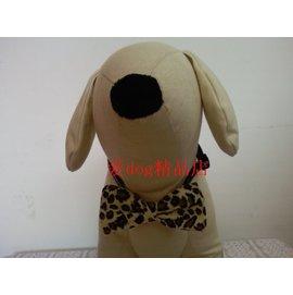 寵物飾品  精美項圈蝴蝶結  外貿尾單  寵物配飾~豹紋M中型犬~7901001