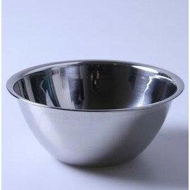 18CM斜身打蛋盆 不銹鋼物鬥 調料缸盅 攪拌盆 味盅 烘焙工具-7201005
