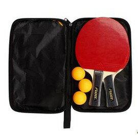 乒乓球拍 成品拍套裝 橫拍/直拍雙面反膠 送3個球 -7801001