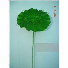 高模擬荷葉 荷花 高模擬塑膠 池塘水景 舞臺表演道具(有桿直徑60cm)~7901002