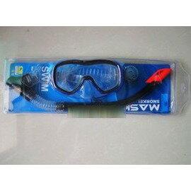 待預購品潛水鏡呼吸管套裝 潛水半幹式呼吸管 潛水眼鏡-7801003