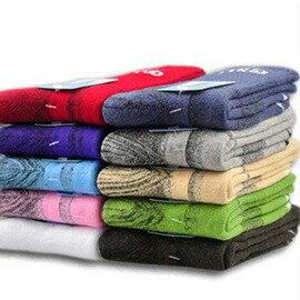 戶外運動徒步男女款加厚毛巾保暖防臭吸汗中筒襪子-7601001