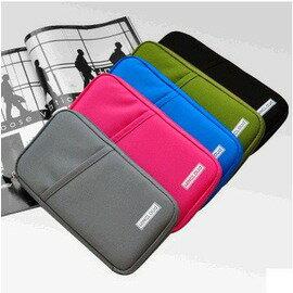 旅遊防水護照包夾多功能證件包夾錢包卡包票據包用品-7601001