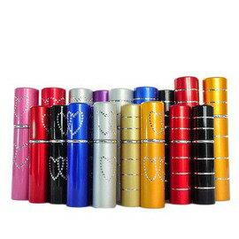 旅遊便攜鋁香水樽 女士香水噴霧瓶 內置玻璃分裝瓶-7601001