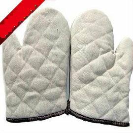 【隔熱手套-普質棉-中號】高溫微波爐手套 普質棉隔熱手套 高溫烘焙手套工具(中號:31.5*17.5cm)2只/包-8001001