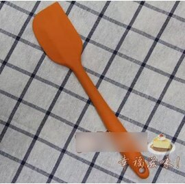 【刮刀-矽膠-一體-大號-2支/組】矽膠奶油刮刀鏟子鏟刀 製作做麵包蛋糕烘焙工具(28*5.6cm) 2支/組-8001002