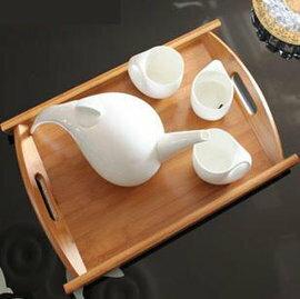 ~託盤~楠竹~炭化~u009~中號~歐式茶盤 竹託盤 小託盤 功夫茶盤 果盤 茶盤^(中號