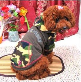【寵物服裝-迷彩-春夏秋-2號/3號】寵物狗狗貓咪衣服 衛衣布料 柔軟舒適 2號/3號可選 顏色隨機,規格:2號/3號-79011