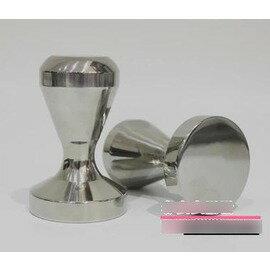 【不銹鋼壓粉器-不銹鋼帶磁一體成型-底徑5.1*高8cm-1個/組】實心304不銹鋼一體成型壓粉錘 填壓器 壓棒 咖啡器具 -7501007