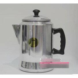 【港式奶茶壺-鋁合金-直徑16*高26cm-3L-1套組】絲襪奶茶壺咖啡壺沖茶壺拉茶壺,鋁制不可用再電磁爐-7501007