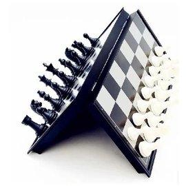 【磁性折疊國際象棋-UB-小號-25cm-棋盤25*25*2cm-1套/組】國際象棋兒童培訓學習 便攜折疊 磁性棋盤兒童禮物(棋盤*1+棋子*32)-56017