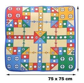 【78*78簡易裝-飛行棋-棋盤78*78*0.3cm-2套/組】親子互動其樂融融 兒童益智迪士尼玩具豪華愛情公寓版 親子遊戲地毯式飛行棋-56021