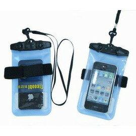 【手機防水套-iphone版-PVC-14.5*9*0.1cm-周長17.9cm-1套/組】耐20米深 環保超強手機防水套 通用手機防水袋-76003