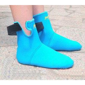 【兒童潛水襪-防滑顆粒-2雙/組】厚3mm氯丁橡膠 濕式加厚潛水服材料 掌心腳底防滑點 帶魔術貼 加厚防滑保暖-76004