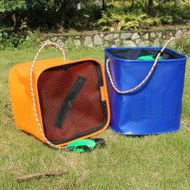 【打水箱-小號-20*20*20cm-2套/組】EVA打水桶 打水箱 eva水箱魚箱 eva水桶 帶手提繩並帶約6米長打水繩-76016