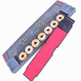 【多功能浮漂盒-長50-長50*寬7*高4cm-1套/組】ABS加長浮漂盒 子線盒 主線盒 三層配件盒 自帶7個主線軸 一把小剪刀-76016