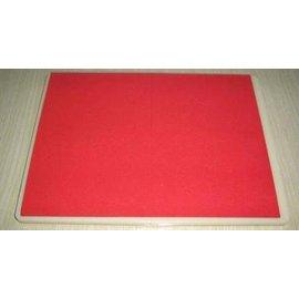 【紅帶可複用拳道擊破板-塑膠+EVA-31*23*1.6cm-1套/組】紅帶踢 紅帶跆拳道訓練膠板 力度45kg 至少可省600塊木板-56045
