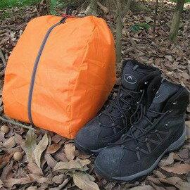 【三角形鞋袋-210D牛津布-底寬33*高30*寬25cm-2個/組】完美收納高幫登山鞋高筒戶外鞋收納袋鞋袋鞋包整理袋-76012