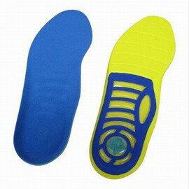 【減震透氣鞋墊-M/L(自行裁剪)-1雙/組】PU+海波利+氣墊 減震鞋墊 除異味 戶外運動 氣墊鞋墊(M-38~42、L42~46)-76012