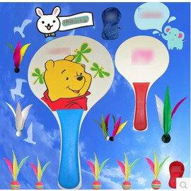 【環保板板羽球套裝-33*19*0.7cm-1套/組】環保板羽拍 板羽球拍 加寬加厚(含2個球拍、1個球拍袋、10個球)-56002