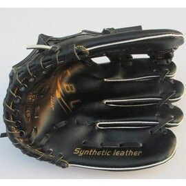 【棒球手套-左手-11英寸-PVC皮-1個/組】建議10-16歲少年或女生使用棒球手套PVC皮棒球手套左手手套中學生用手套-56005