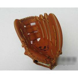 【棒球手套-左手-13英寸-PVC皮-1個/組】成人手大者使用棒球手套高級PVC皮成人棒球手套雙十字檔手套-56005