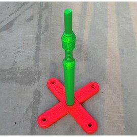 【棒球打擊T架-塑膠-高63*底座43cm-1套/組】適合兒童練習棒球使用打擊T座兒童棒球T座塑膠T座-56005