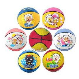 【兒童籃球-3號-橡膠-直徑約7寸18cm-2個/組】橡膠籃球 幼稚園專用籃球 玩具籃球 拍拍球 小皮球-56007