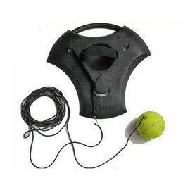 【專業網球訓練器底座-橡膠-30*30*3cm-1套/組】 網球練習器 網球陪練器 單人網球 不須灌水或沙-56007