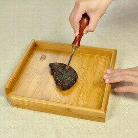 【分茶盤-竹-24*24cm-1套/組】茶道茶具配件 普洱 普洱刀伴侶 功夫茶具 茶道零配-7501015