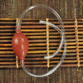 【水管水球-塑膠-管長50-60cm-球14*4.5cm-1套/組】茶道茶具配件茶盤接水管水球排水塑膠管吸水球 茶水桶出水-7501015