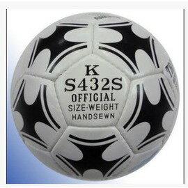【手縫足球-4號-PU-直徑約20.3cm-1個/組】足球手縫足球真皮足球4號5號足球7人11人制足球(送金屬針或網兜)-56023