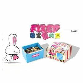 【簡易固定食盆-RJ123-110806-2個/組】簡易固定食盆 兔子 荷蘭豬 龍貓食盆食碗-79023