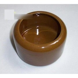 【食盤-倉鼠-AIO-Y005-直徑9.5-2個/組】大口防翻食物瓷碗,直徑9.5cm,2個/組-79023