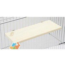 【跳板-天然杉木-長方形-RJ168-321402】長方形小寵物跳板 跳臺 踏板 站板 龍貓兔子天竺鼠層板-79023